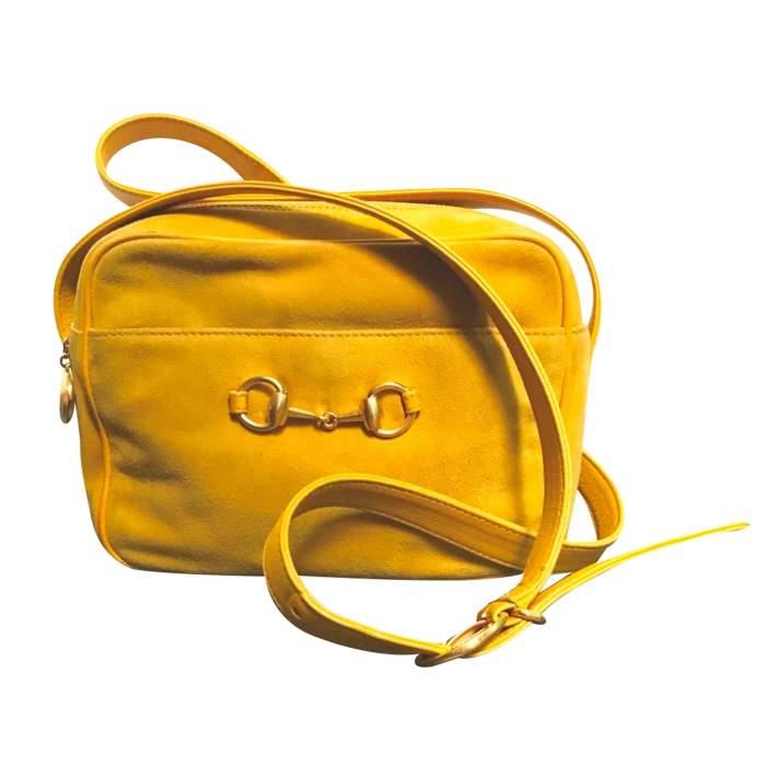 Vintage suede bag-0
