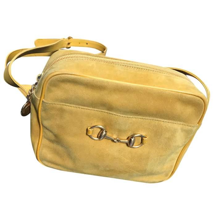 Vintage suede bag-2