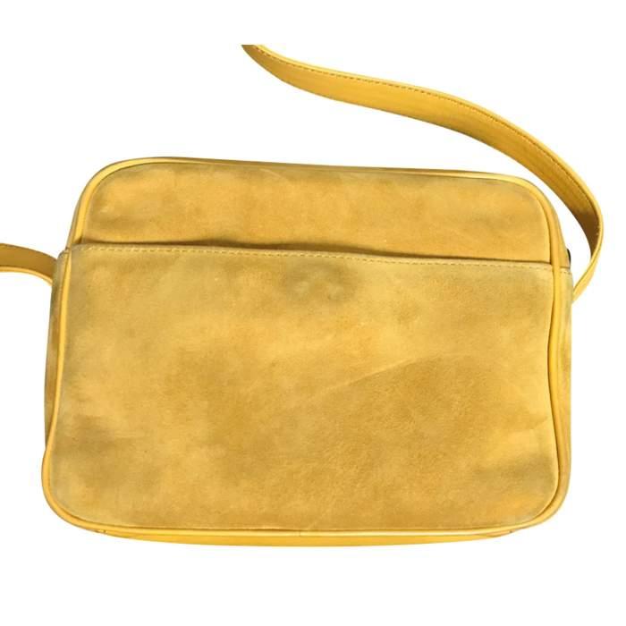 Vintage suede bag-4