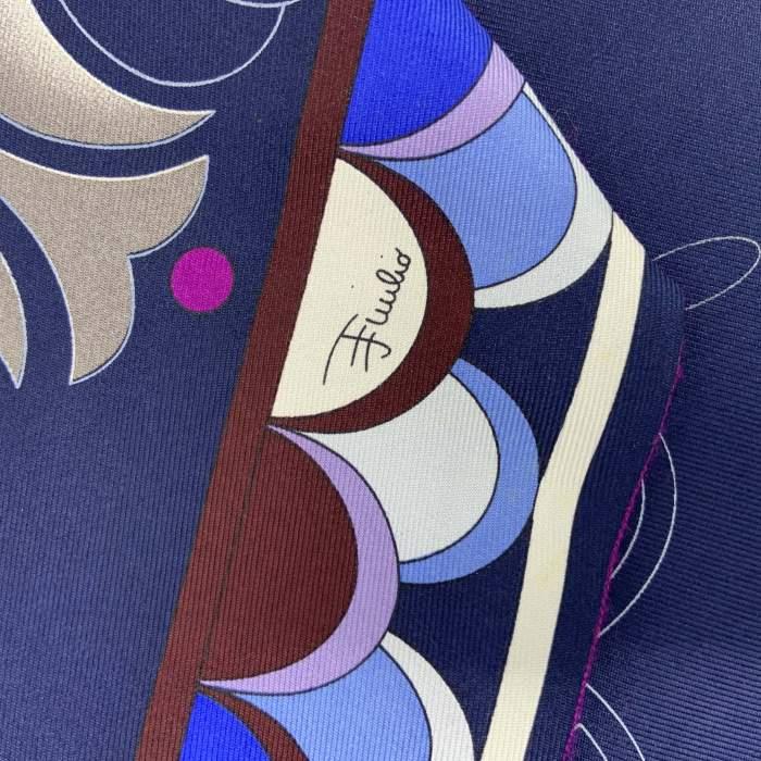 Silk & Wool Twilly Scarf-10