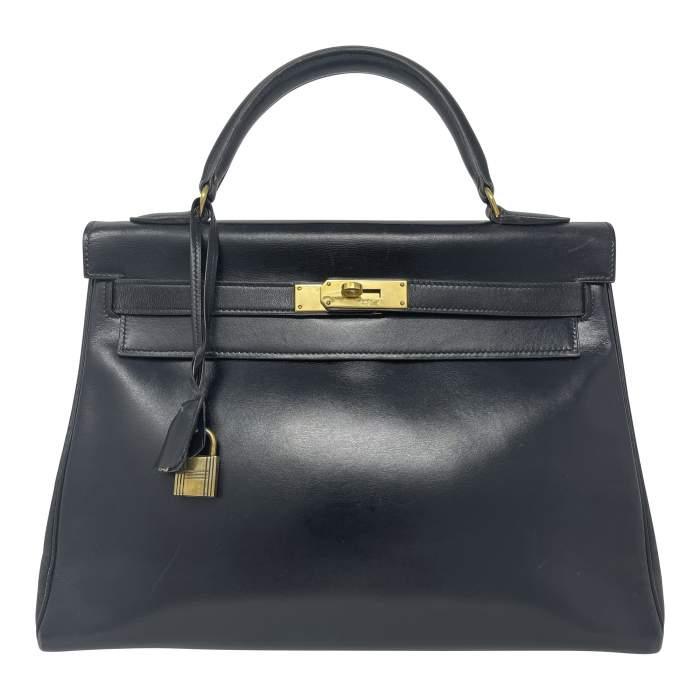 Vintage 50's  Kelly bag.-0
