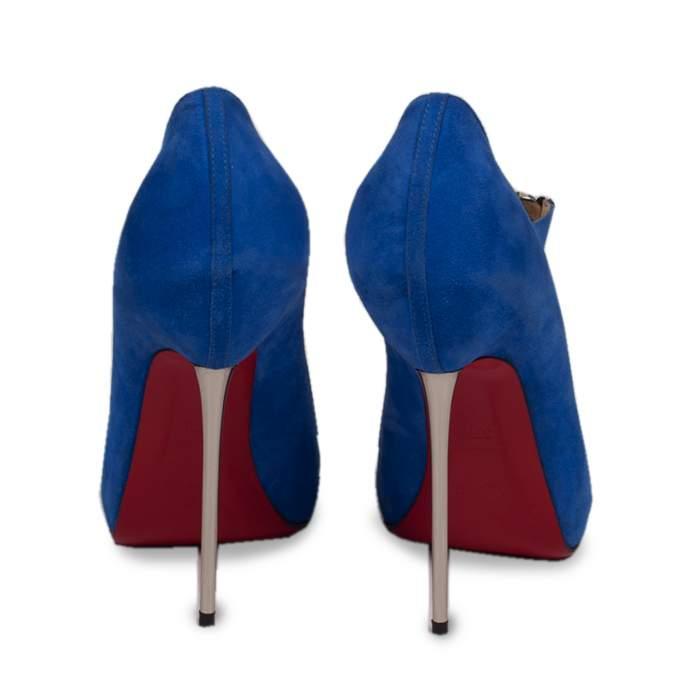 Suede peep toe Pumps-2
