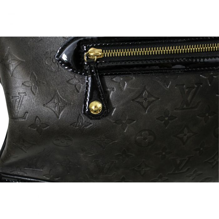 """Rare 2006 Lovely """"New Alizee"""" Bag in Monogram Embossed Leather-4"""
