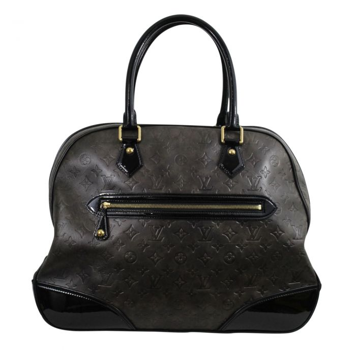"""Rare 2006 Lovely """"New Alizee"""" Bag in Monogram Embossed Leather-0"""