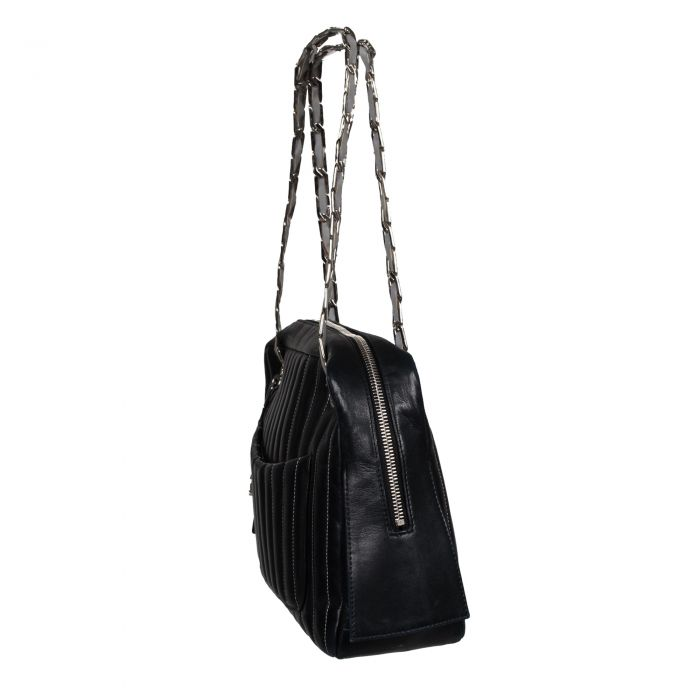 Calfskin leather Bag -6
