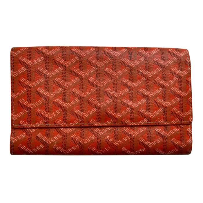 Classic orange Wallet-0