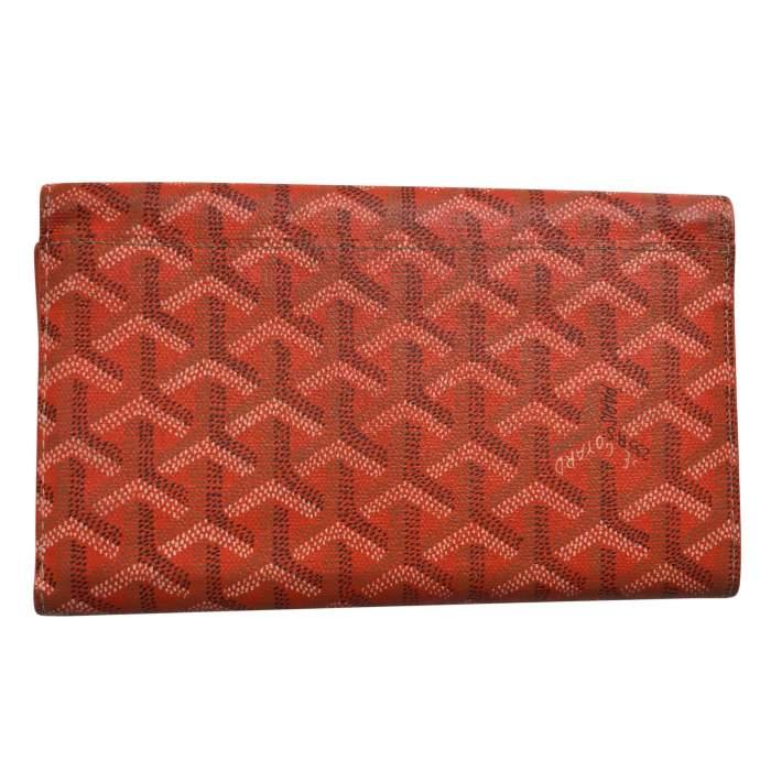 Classic orange Wallet-2