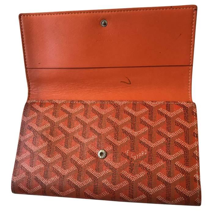 Classic orange Wallet-4