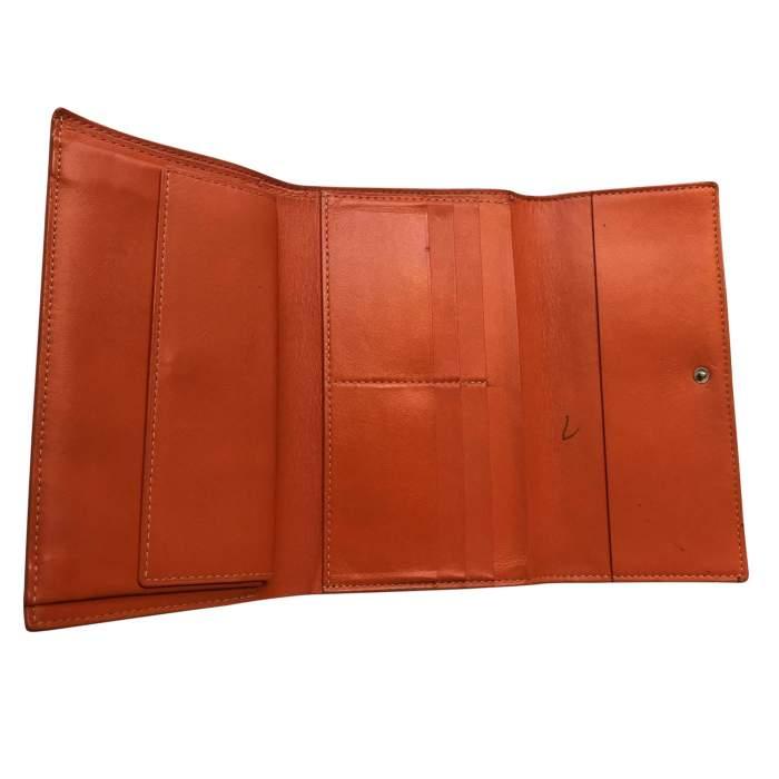 Classic orange Wallet-6