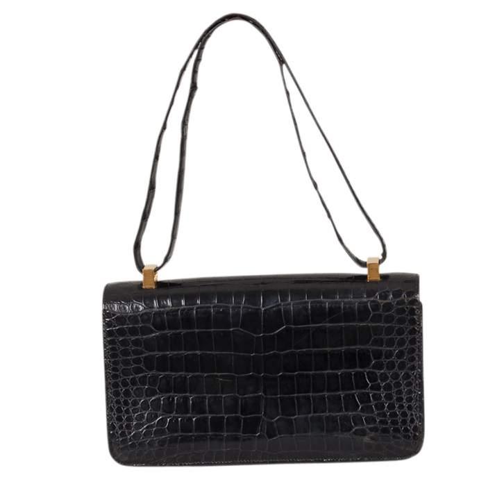 Vintage Crocodile Handbag-2