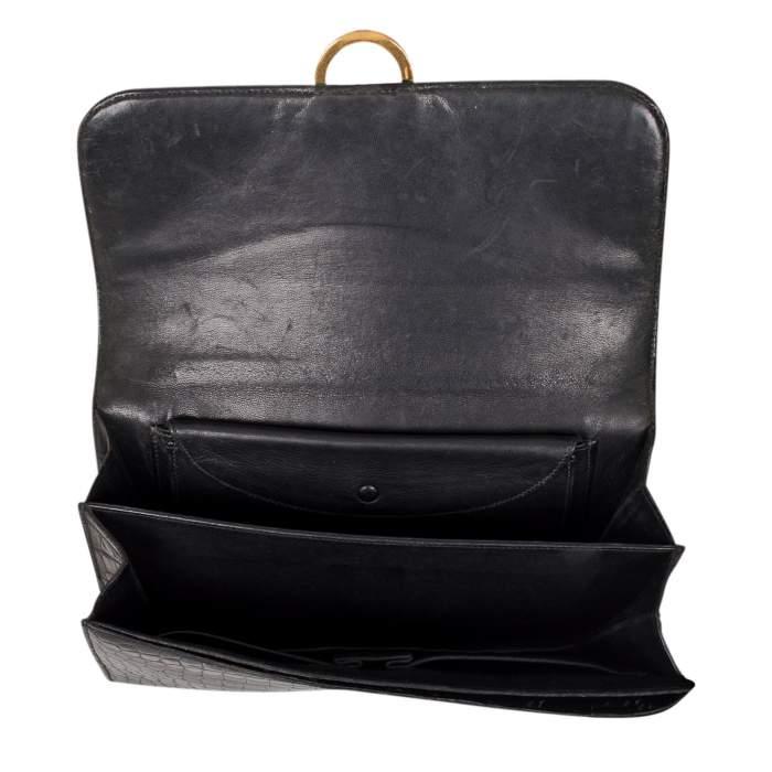 Vintage Crocodile Handbag-8