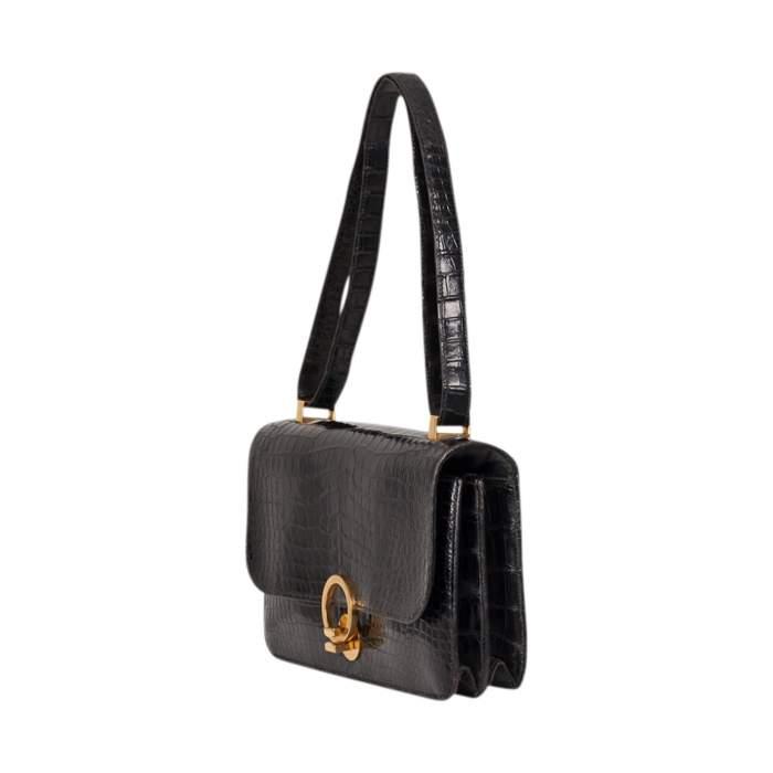 Vintage Crocodile Handbag-6