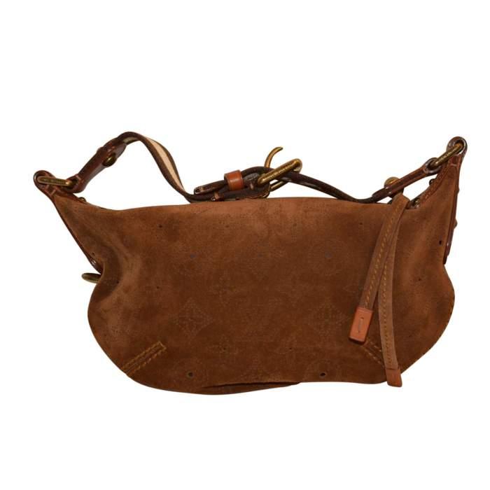 Suede Handbag-0