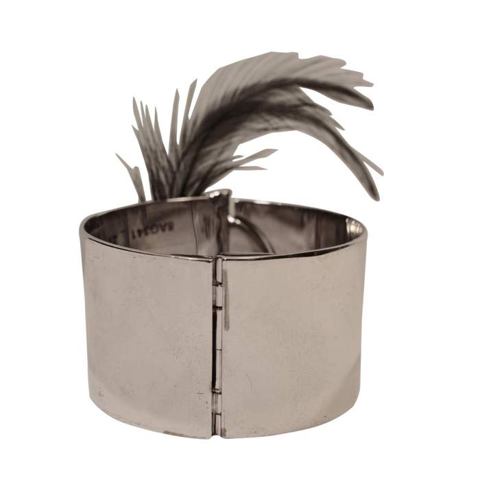 Removable feather cuff-4