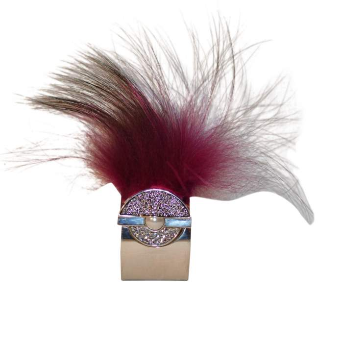Removable feather cuff-6