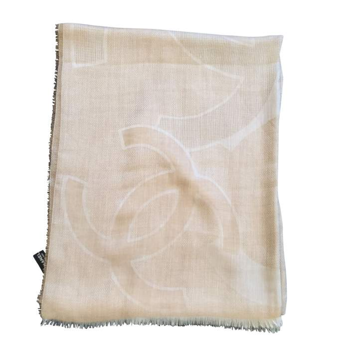 Large cashmere and silk Scarf-0