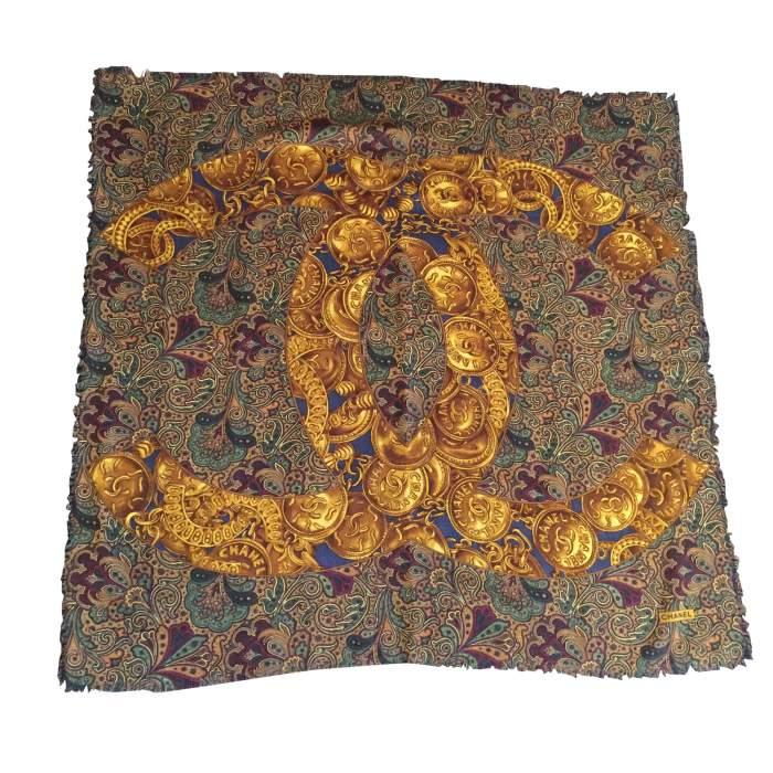 Woven cotton Scarf-0