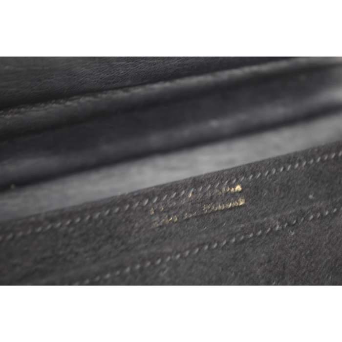 Vintage 40's mini Hermes Deer Leather Bag with 18k Gold Clasp-6