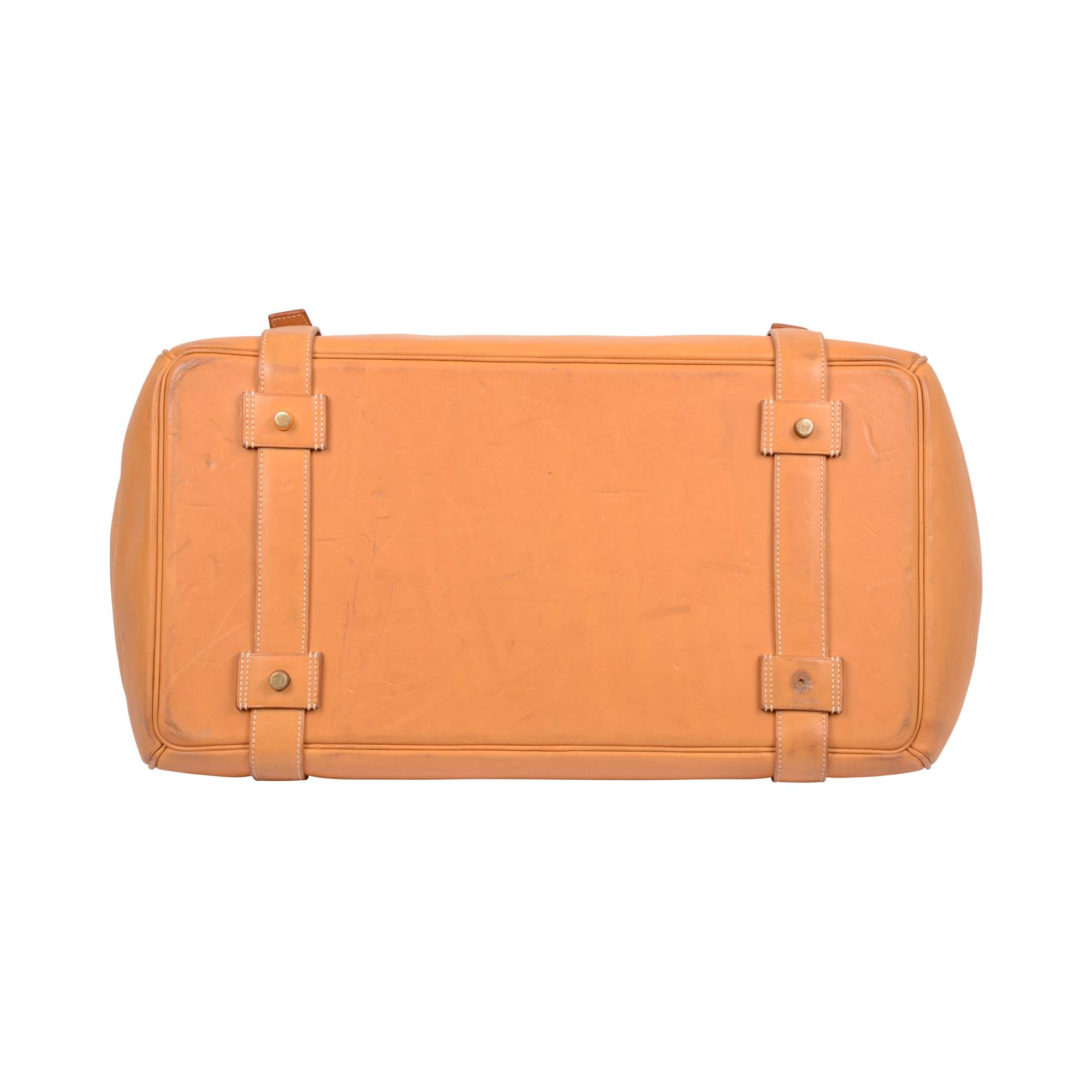 cdb0965c16 Hermes Vintage Leather gold