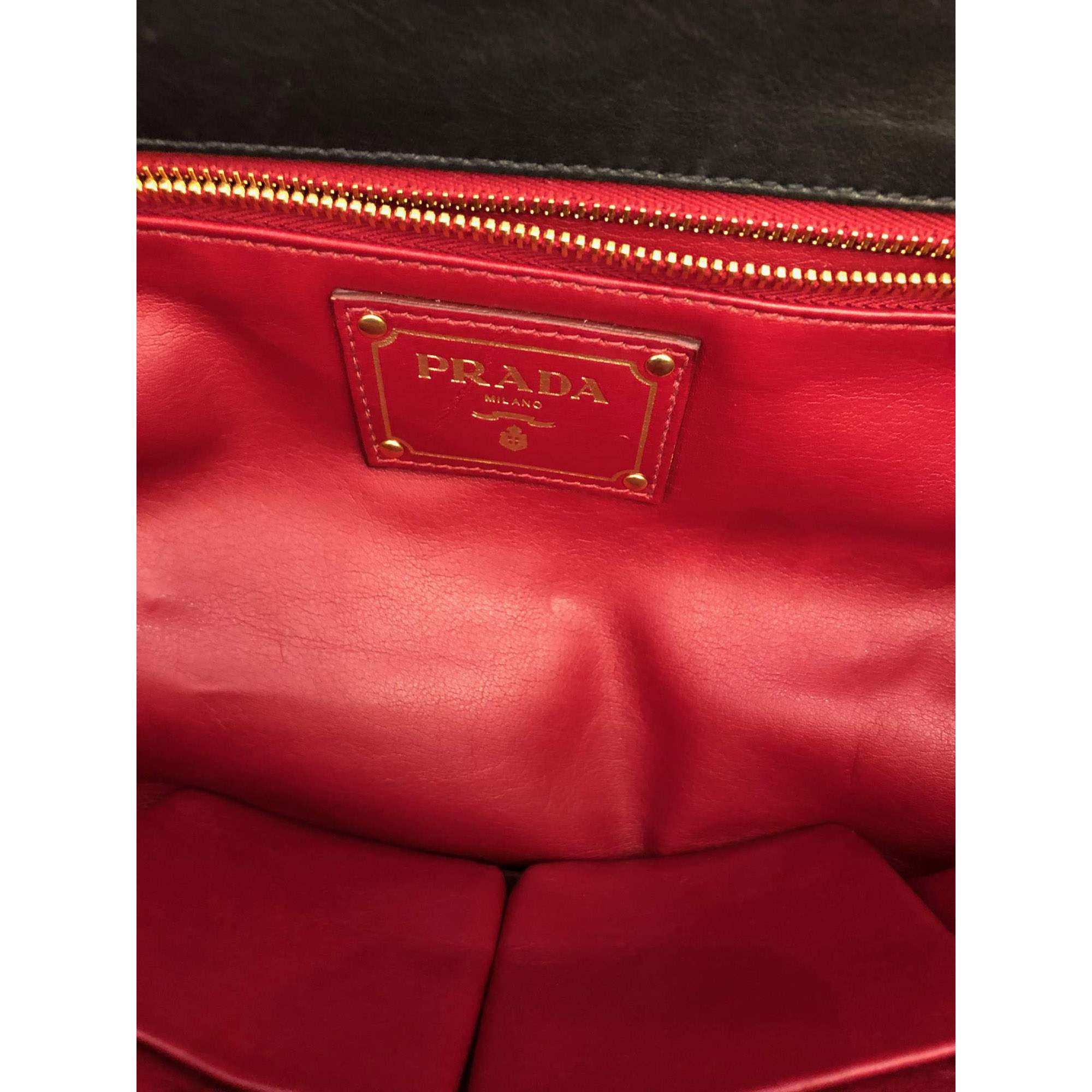 Sav On Bags >> Prada Black Sav Bag The Chic Selection