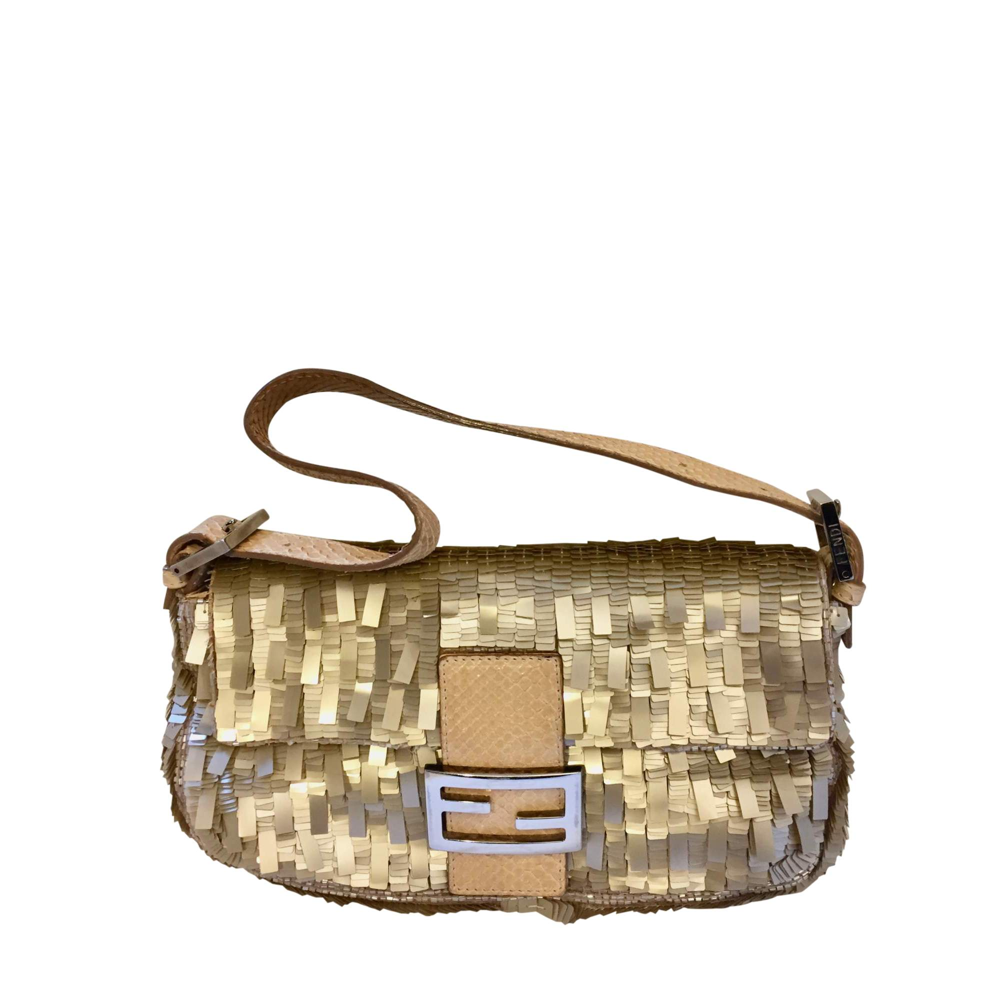 11cafe1e311 Fendi Baguette Sequin Bag   The Chic Selection