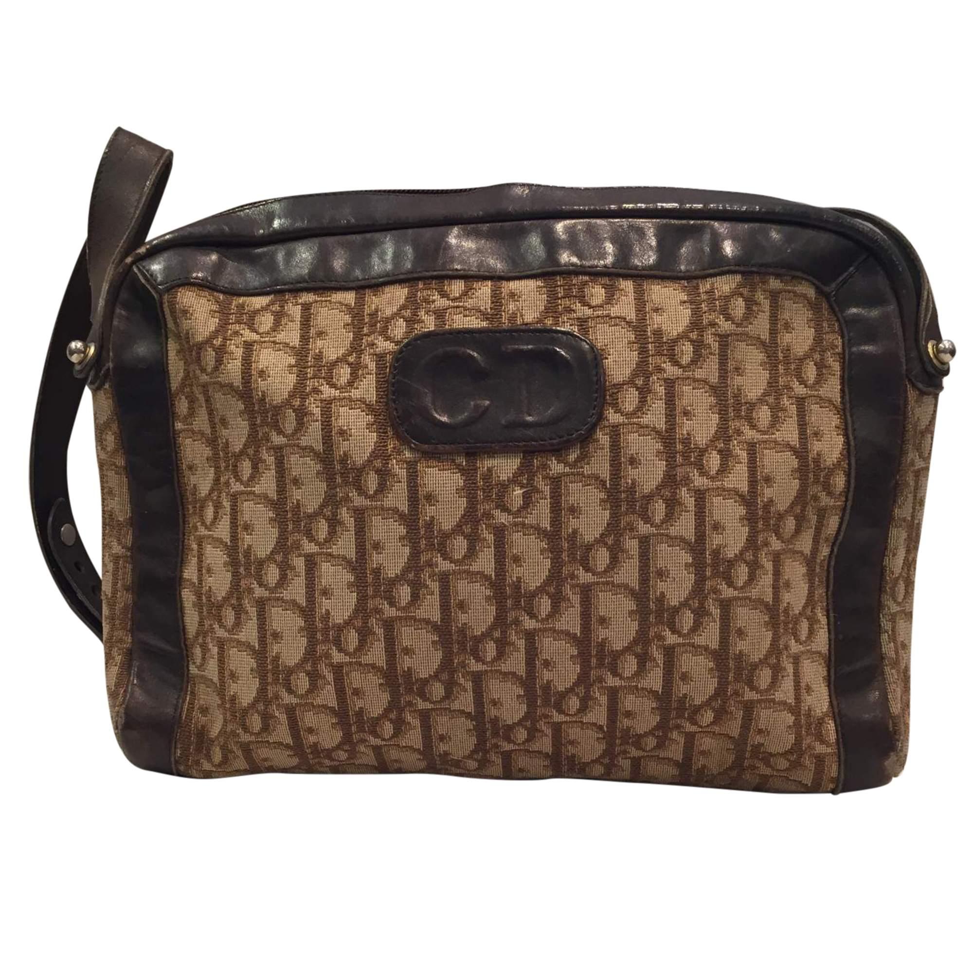 67a78f8b56 Gucci Vintage 1970 canvas monogram Bag