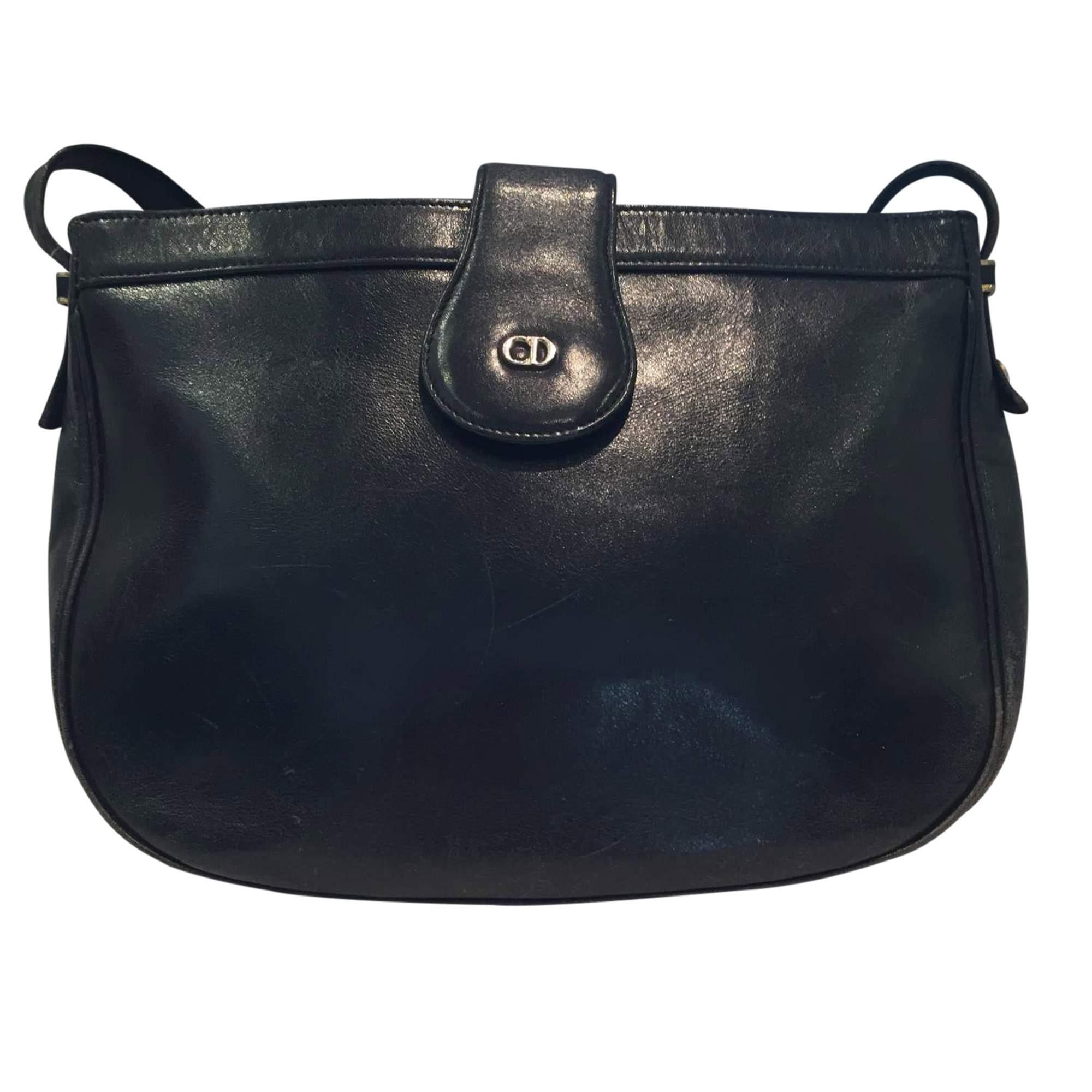 a229b6063d Dior Vintage 1980s leather Bag