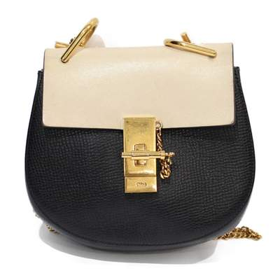 Drew grained leather Bag -0