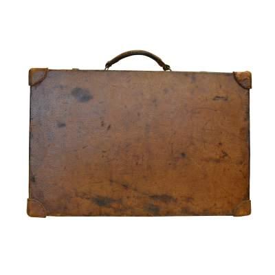 Unique Vintage Hermes Suitcase-0