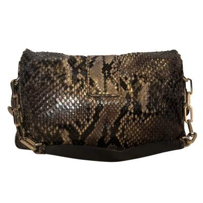 Black and gray python Bag-3