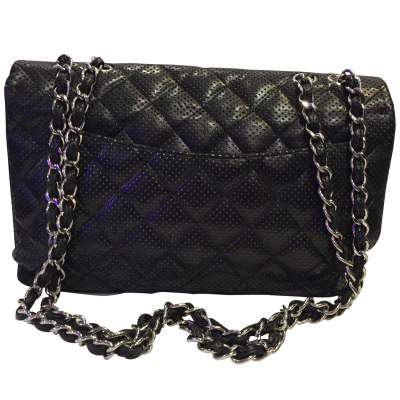 Timeless perforated quilted leather Bag-3