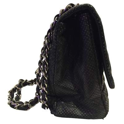 Timeless perforated quilted leather Bag-7
