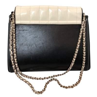 Black leather Bag-3