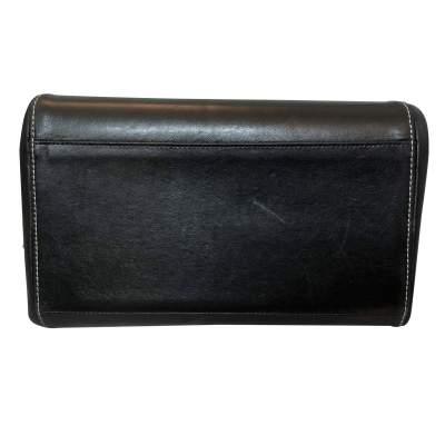 Black leather Bag-9