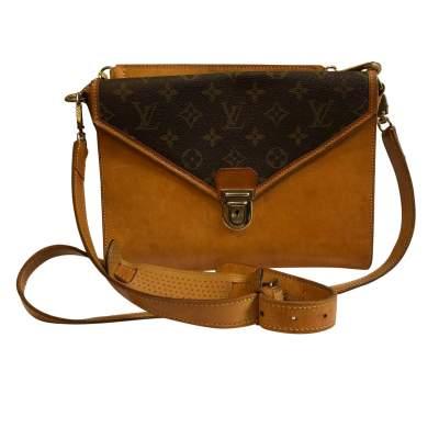 Vintage double shoulder Bag-3