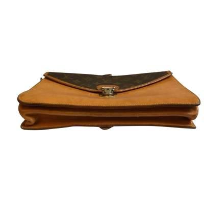 Vintage double shoulder Bag-7