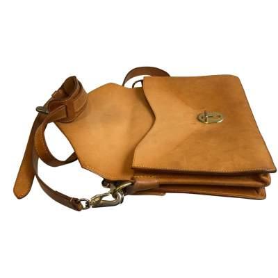 Vintage double shoulder Bag-9
