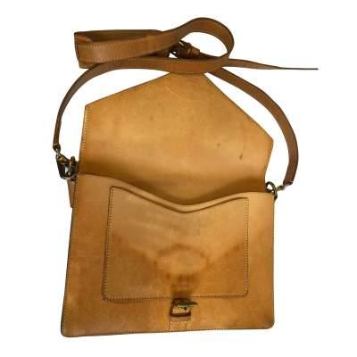 Vintage double shoulder Bag-11
