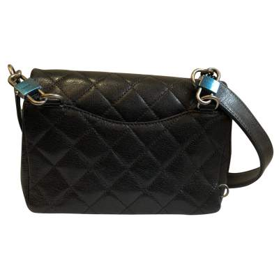 New small black leather Bag-7