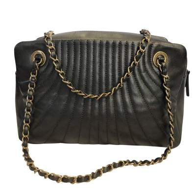 Bronze leather Bag -3
