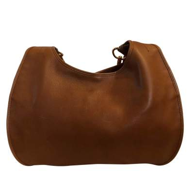 Large gold leather Bag -3