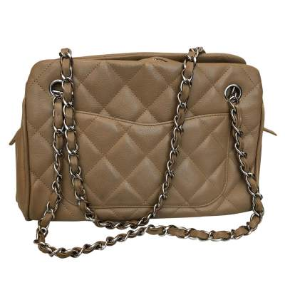 Quilted leather Bag -5
