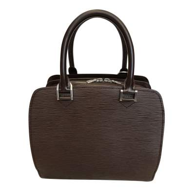 Brown leather Bag-1