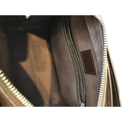 Brown leather Bag-9