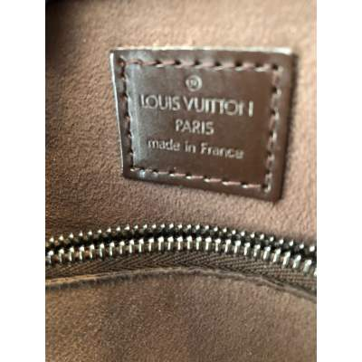 Brown leather Bag-11