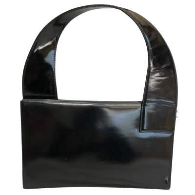 Vintage patent leather Bag -0