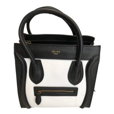 Two-tone leather Bag -1