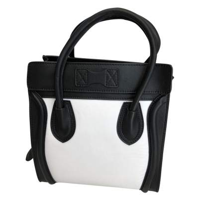 Two-tone leather Bag -5