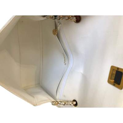 White leather Bag -9