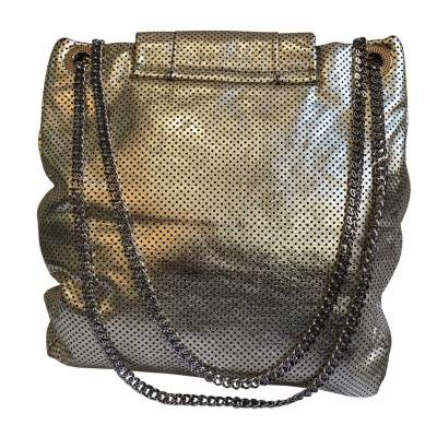 New gold leather Bag -5